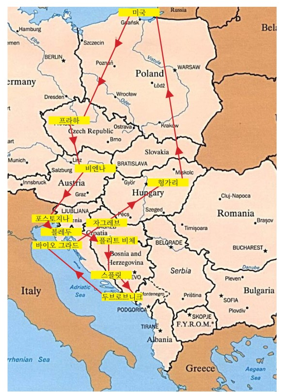 balkans with budapest cropped